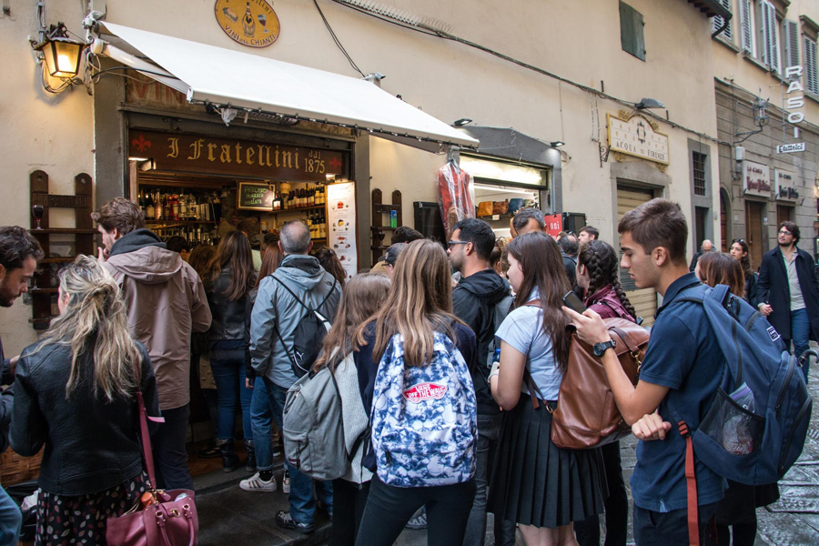 TASIS Students at I Fratellini in Florence